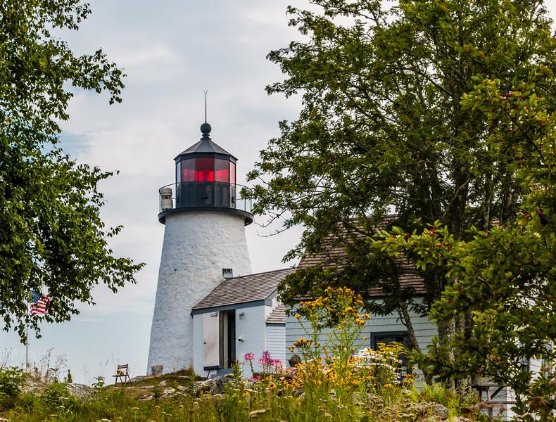 ME-Boothbay Harbor-Burnt Island Lighthouse