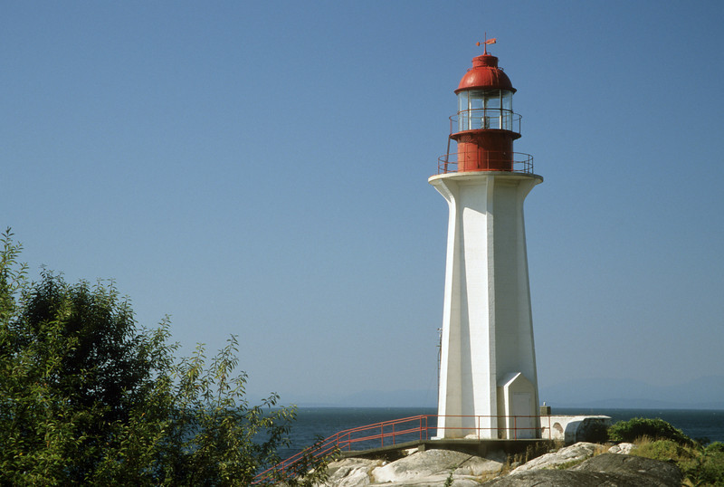 CANADA-BRITISH COLUMBIA-WEST VANCOUVER-POINT ATKINSON LIGHT