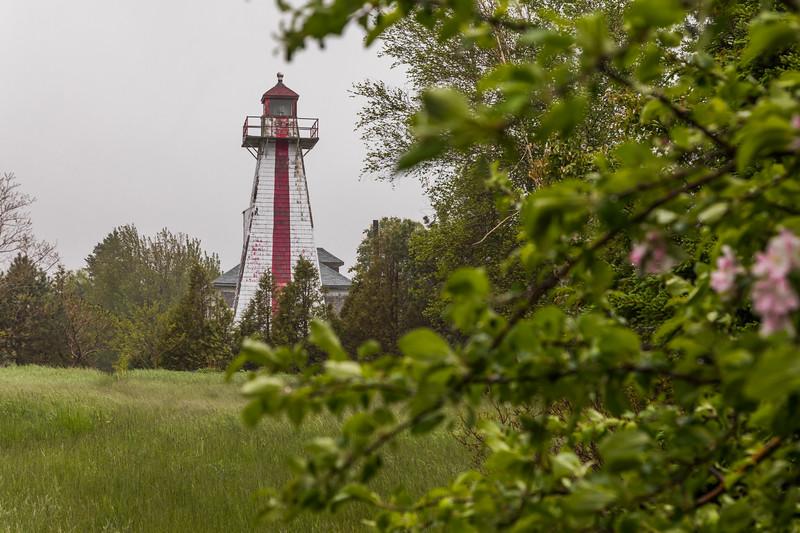 CANADA-PRINCE EDWARD ISLAND-Lower Montague-Georgetown Rear Range Light