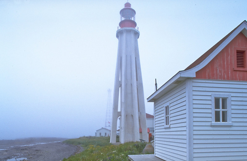 CANADA-QUEBEC-POINTE-AU-PERE-POINT-AU-PERE LIGHTHOUSE