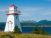 CANADA-NEWFOUNDLAND-WOODY POINT-WOODY POINT LIGHTHOUSE