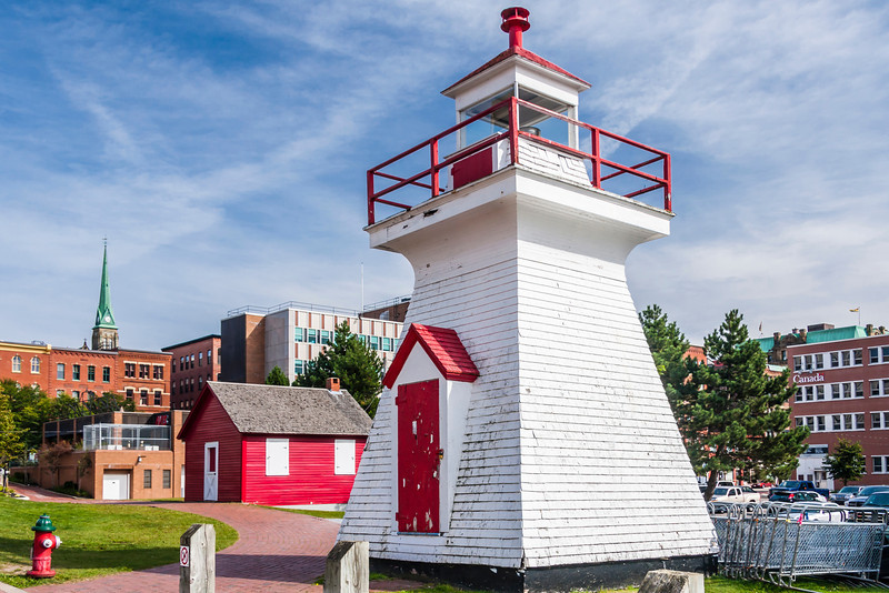 CANADA-NEW BRUNSWICK-SAINT JOHN-DIGBY PIER LIGHT [This light will be moved back to it's original site, Digby N. S. in 2013]