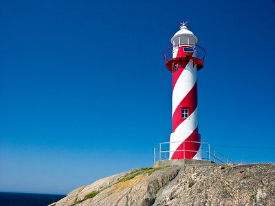 CANADA-NEWFOUNDLAND-HEART'S CONTENT-HEART'S CONTENT LIGHTHOUSE