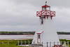 CANADA-PRINCE EDWARD ISLAND-Wood Islands-Wood Islands Rear Range Lights