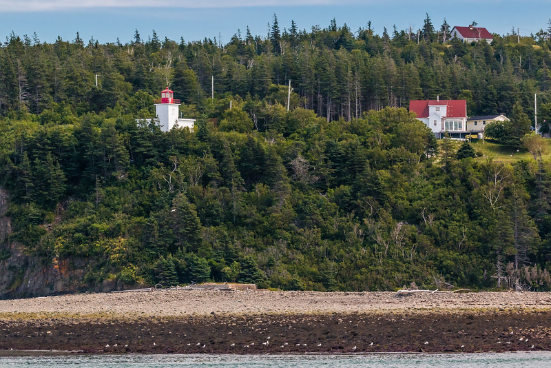 CANADA-NEW BRUNSWICK-GRAND MANAN-LONG EDDY LIGHT