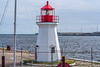 CANADA-NEW BRUNSWICK-SAINT JOHN-ST. JOHN HARBOR LIGHT