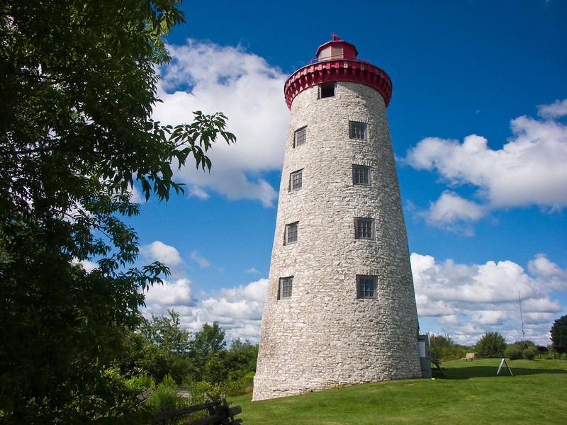 CANADA-ONTARIO-WEXFORD-WINDMILL POINT LIGHTHOUSE