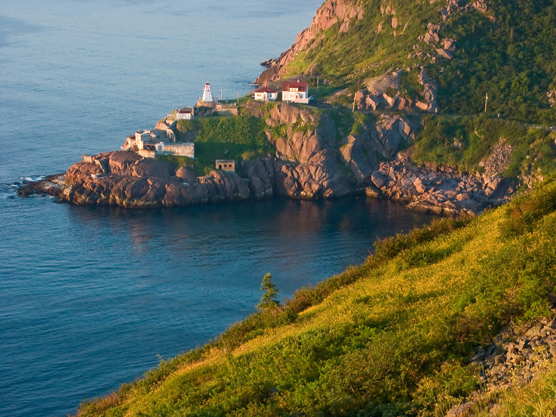 CANADA-NEWFOUNDLAND-ST. JOHN'S-THE NARROWS-FORT AMHERST LIGHTHOUSE