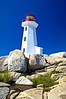 CANADA-NOVA SCOTIA-PEGGY'S COVE-PEGGY'S COVE LIGHTHOUSE
