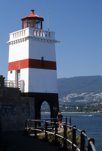CANADA-BRITISH COLUMBIA-VANCOUVER-BROCKTON POINT LIGHT