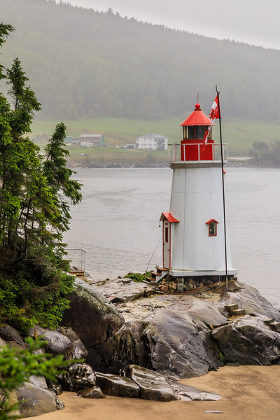 Canada-Quebec-La Baie, Saguenay-Lighthouse