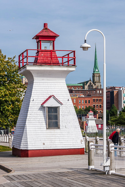 CANADA-NEW BRUNSWICK-SAINT JOHN-PRIVATE LIGHT AND DIGBY PIER LIGHT