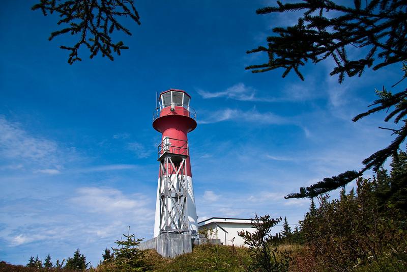 CANADA-NEW BRUNSWICK-CAPE SPENCER LIGHTHOUSE