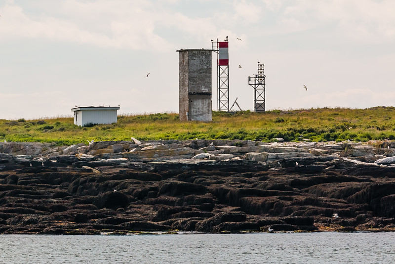 CANADA-NEW BRUNSWICK-GREAT DUCK ISLAND LIGHT