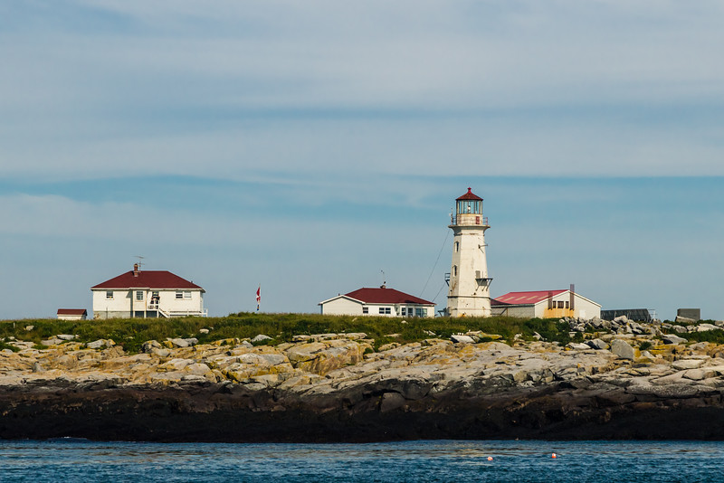 CANADA-NEW BRUNSWICK-Machias Seal Island Lighthouse