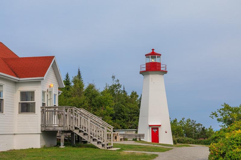 Canada-Quebec-Cap-de-Bon-Désir Lighthouse