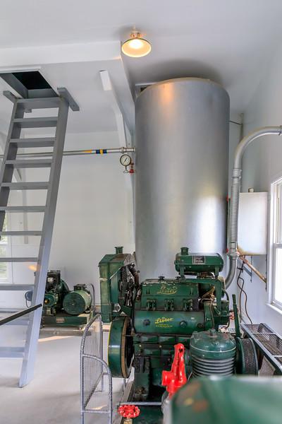 Canada-Quebec-Cap-de-Bon-Désir Lighthouse-Fog horn room