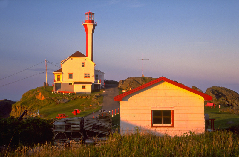 CANADA-NOVA SCOTIA-YARMOUTH-CAPE FORCHU LIGHTSTATION