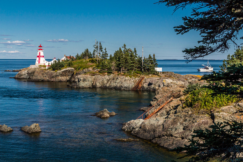 CAN-NEW BRUNSWICK-CAMPOBELLO ISLAND-EAST QUODDY LIGHT
