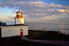 CANADA-NEW BRUNSWICK-GRAND MANAN-LONG EDDY POINT LIGHT