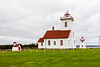 CANADA-PRINCE EDWARD ISLAND-Wood Islands Lighthouse, Wood Islands front range and rear range lighthouse