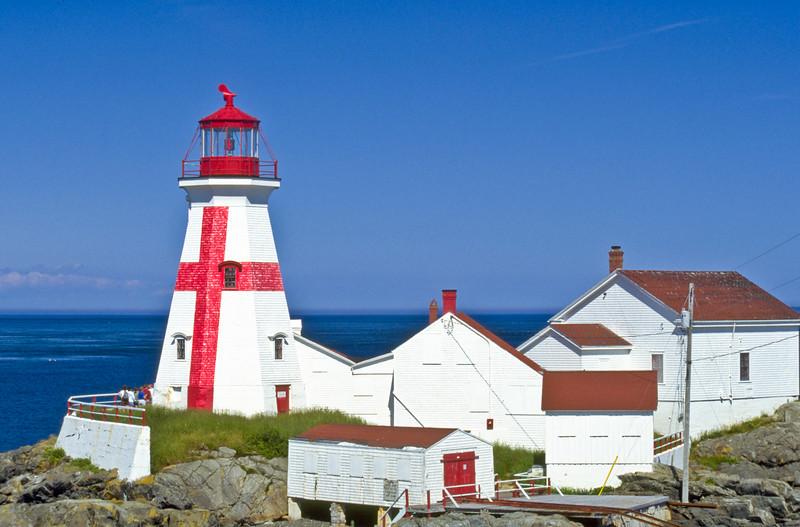 CANADA-NEW BRUNSWICK-CAMPOBELLO ISLAND-EAST QUODDY HEAD LIGHT