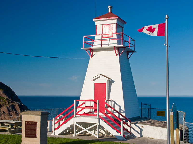 CANADA-NEWFOUNDLAND-ST. JOHN'S-FORT AMHERST LIGHT