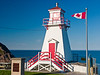CANADA-NEWFOUNDLAND-ST. JOHN'S-FORT AMHERST LIGHT