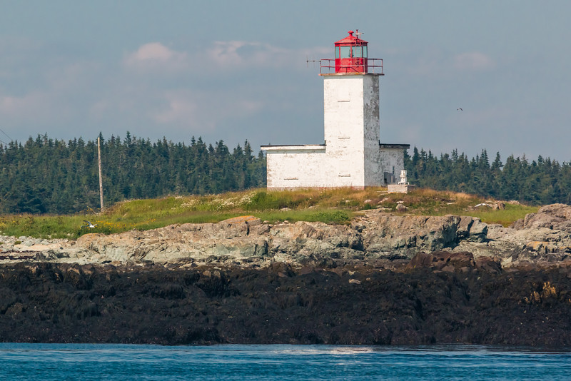 CANADA-NEW BRUNSWICK-WHITE HEAD ISLAND-LONG POINT LIGHT