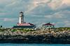 CANADA-NEW BRUNSWICK-Machias Seal Island Lighthouse