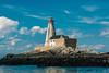 CANADA-NEW BRUNSWICK-GANNET ROCK-GANNET ROCK LIGHTHOUSE