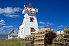 CANADA-PRINCE EDWARD ISLAND-NORTH RUSTICO-NORTH RUSTICO LIGHTHOUSE