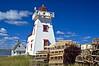 CANADA-PRINCE EDWARD ISLAND-NORTH RUSTICO-NORTH RUSTICO LIGHTHOUSE
