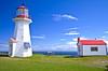 CANADA-QUEBEC-GASPE-FORILLON NATIONAL PARK-CAP GASPE LIGHT