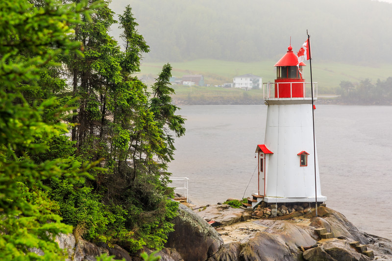 Canada-Quebec-La Baie, Saguenay-Lighthouse