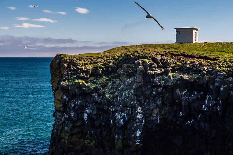 Iceland-Snaefellsnes Peninsula-ARNARSTAPI-Arnarstapaviti [Lighthouse]