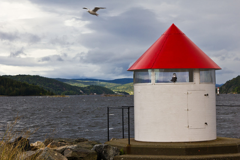 SCANDINAVIA-NORWAY-DROBAK-LIGHTHOUSE