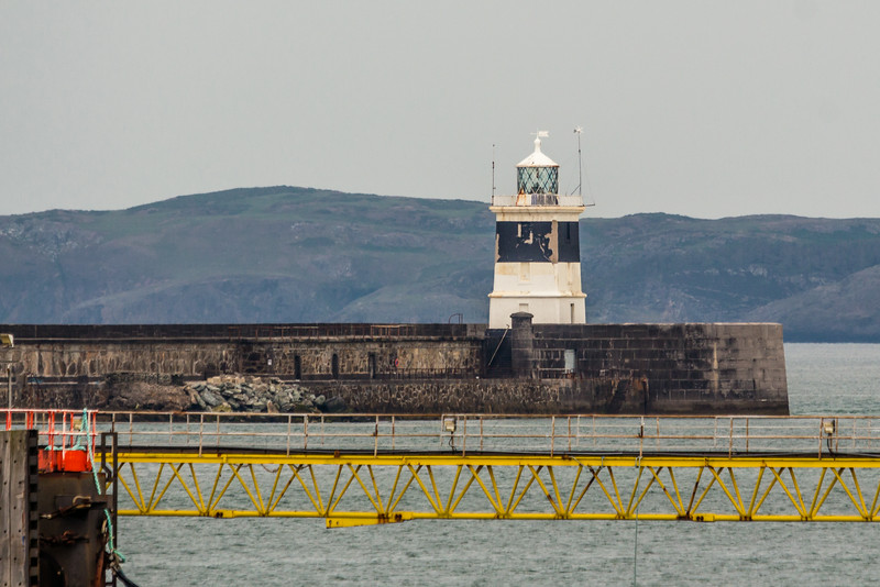 UK-WALES-HOLYHEAD-HOLYHEAD BREAKWATER LIGHTHOUSE
