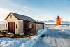 ICELAND-Svalbarðseyri-Svalbarðseyrarviti