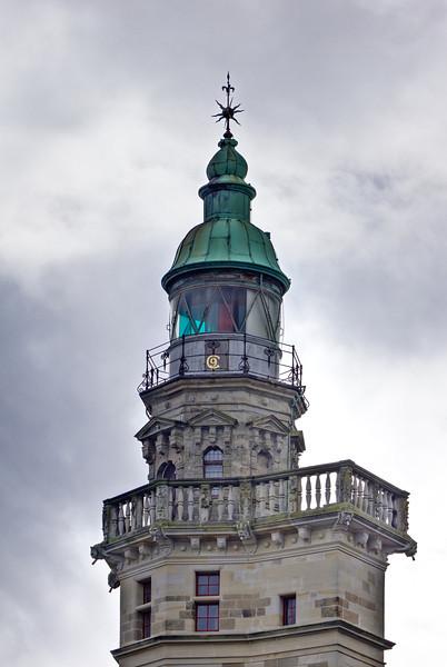 SCANDINAVIA-DENMARK-HELSIGNOR-FREDERIKSBORG SLOT [CASTLE]-DRONNINGENS TOWER LIGHT