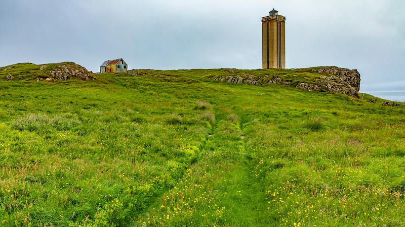 Iceland-Vopnafjörður-Kolbeinstangi Lighthouse