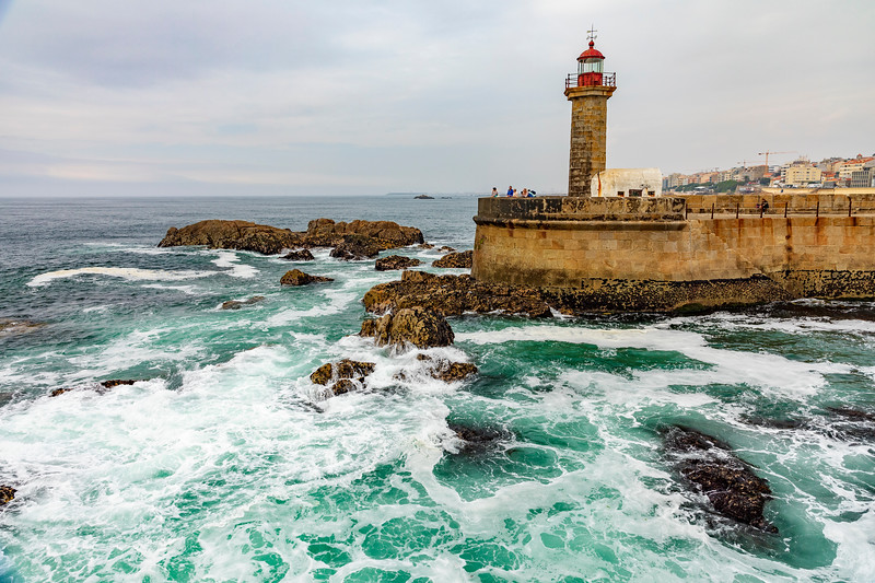 Portugal-Porto-Farol das Felgueiras