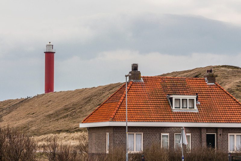 THE NETHERLANDS-JULIANADORP-GROOTE KAAP LIGHTHOUSE