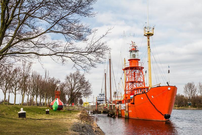 THE NETHERLANDS-HELLEVOETSLUIS-LIGHTSHIP NOORD HINDER