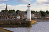 SCOTLAND-EDINBURGH-LEITH-WEST PIER LIGHT