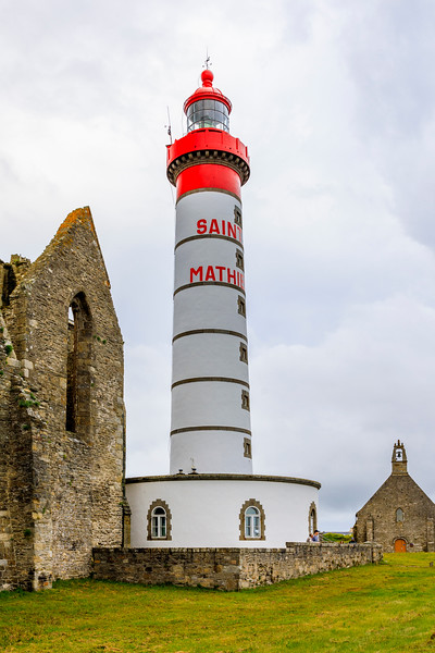 France-Brittany-Finistère-Plougonvelin-Saint-Mathieu lighthouse