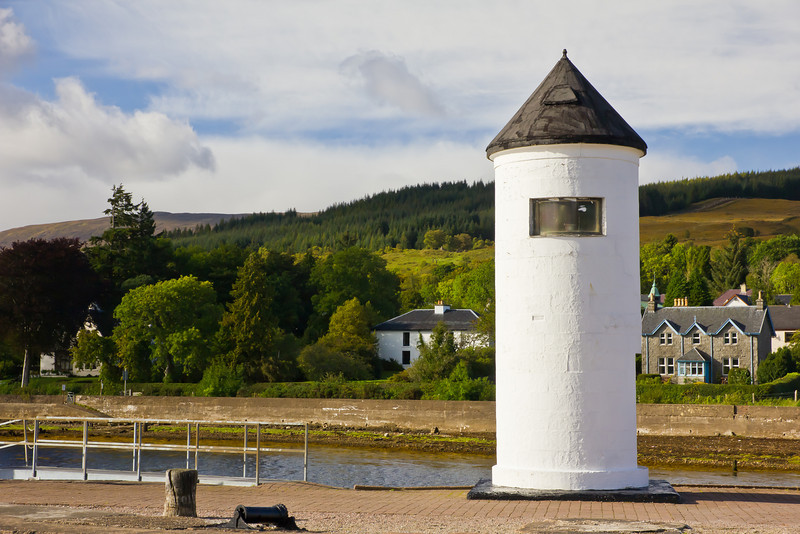 SCOTLAND-CORPACH-PEPPERPOT LIGHTHOUSE