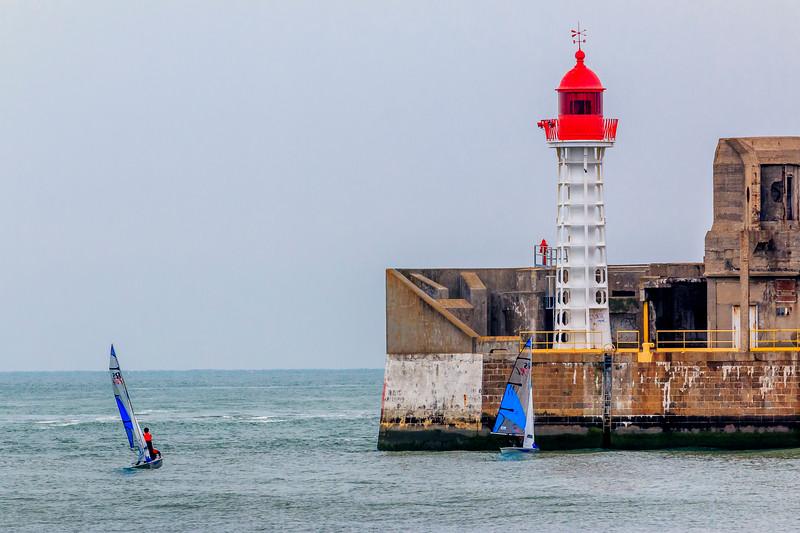 France-Normandie-Le Havre-Nouvelle Digue Nord Light