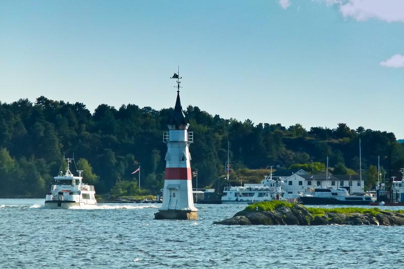 SCANDINAVIA-NORWAY-OSLO-KAVRINGEN LIGHTHOUSE