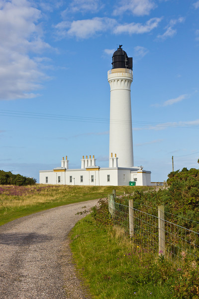SCOTLAND-LOSSIEMOUTH-COVESEA SKERRIES LIGHTHOUSE